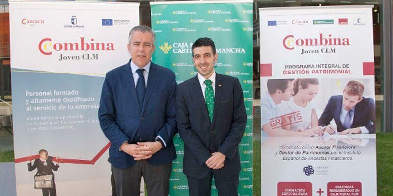 Caja Rural CLM y Cámara de Comercio de Toledo acercan el empleo a los jóvenes de la región