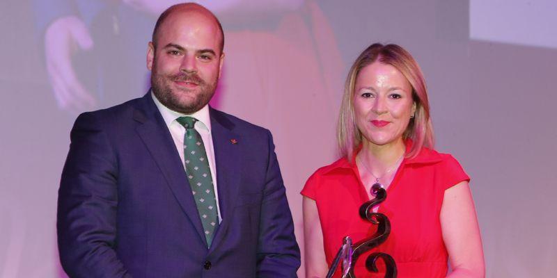 Caja Rural Castilla-La Mancha, con los empresarios de Albacete en los XVIII Premios San Juan