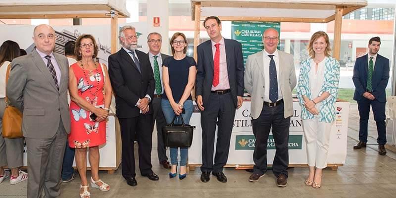Caja Rural Castilla-La Mancha participa en la II Feria de Empleo y Emprendimiento de la Cámara en Talavera