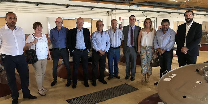 Castilla-La Mancha incrementa la exportación de vino un 7,7 por ciento en el primer cuatrimestre del año gracias al tirón del embotellado