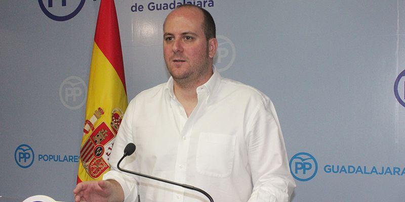 """Castillo hurga en la herida """"El PP es un partido sólido y unido frente a un PSOE que está dividido y roto como claramente se ve en Guadalajara"""""""