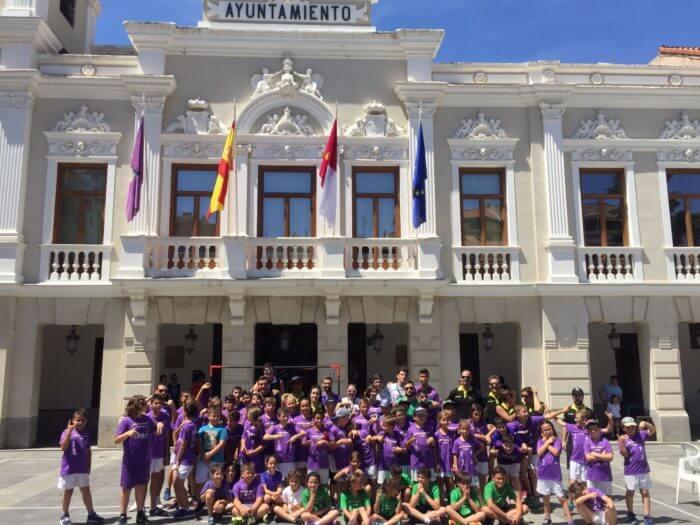 Divertidísima mañana de #StreetHandball en Guadalajara