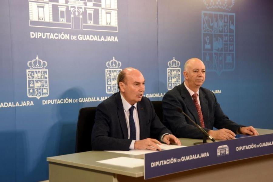 """Domínguez recuerda que la Diputación de Guadalajara está validada como """"una de las más transparentes de España"""""""