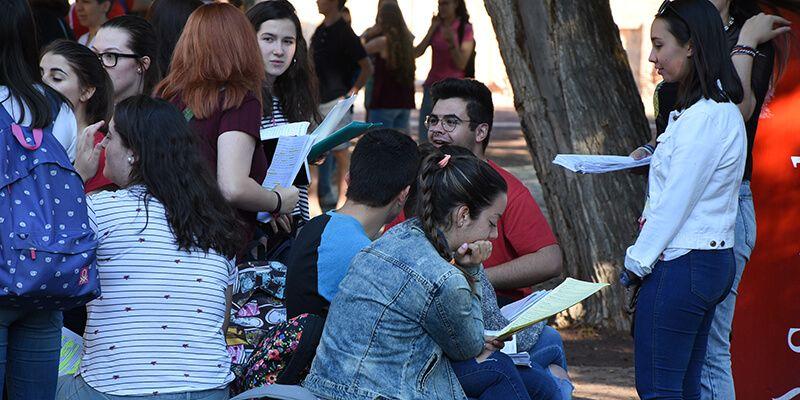 El 94,41% de los alumnos aprueba la EvAU en el distrito universitario de Castilla-La Mancha