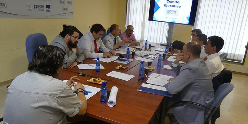 El Comité Ejecutivo de CEOE-Cepyme Cuenca vislumbra crecimiento económico