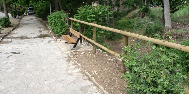 El Consorcio Ciudad de Cuenca recepciona las obras de reparación de muro del cauce del río Huécar frente al Portland