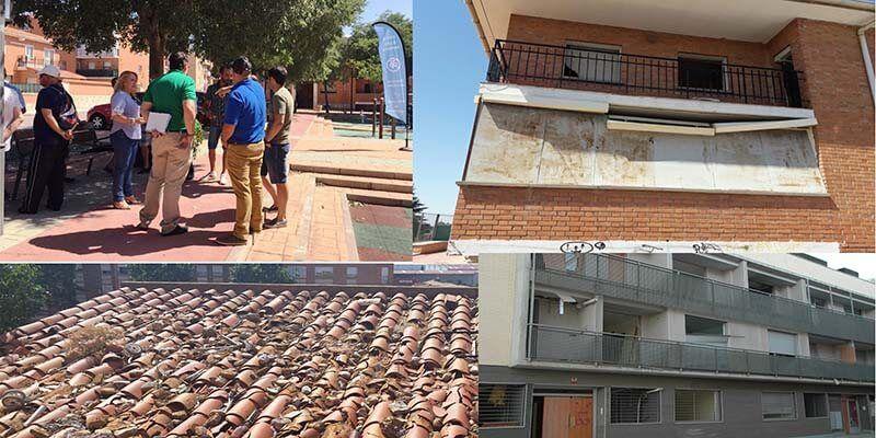 El PP de Azuqueca denuncia que el PSOE margina a los barrios de El Vallejo e Institutos sus vecinos están al límite ante el abandono del Ayuntamiento
