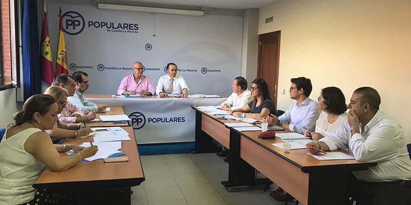 """El PP de Toledo celebra su Comité de Dirección para analizar el proyecto """"pueblo a pueblo"""" que pretende estar más cerca de los ciudadanos"""