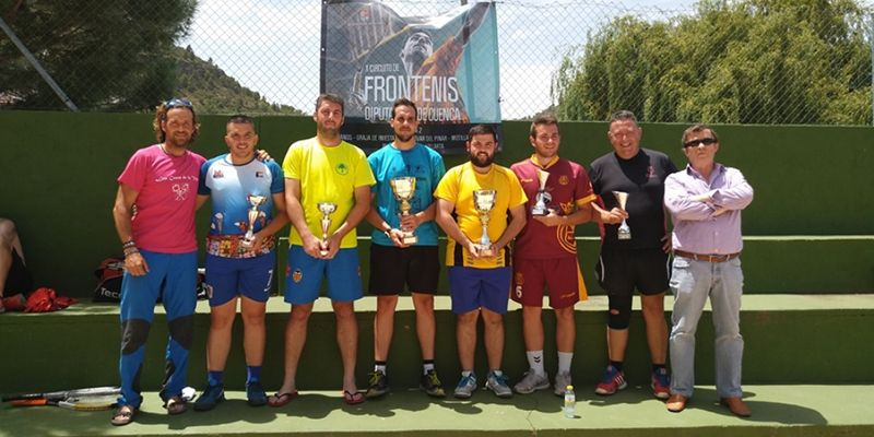 El X Circuito de Frontenis Diputación de Cuenca echó a andar con su primera prueba en Enguídanos