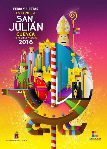 El plazo para presentar obras al Concurso de Carteles de San Julián 2017 finalizará el día 7 de julio