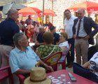El presidente asiste a la final y entrega de premios del Campeonato de Bolos Billa en Millana