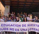 Familias de Guadalajara perjudicadas por el proceso de admisión de alumnos reclaman soluciones a la escolarización de sus hijos