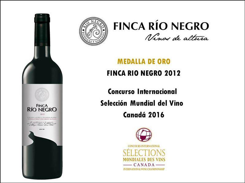 """Finca Río Negro logra, por segundo año consecutivo, la Medalla de Oro del concurso """"Selections Mondiales des Vins"""" de Canadá"""