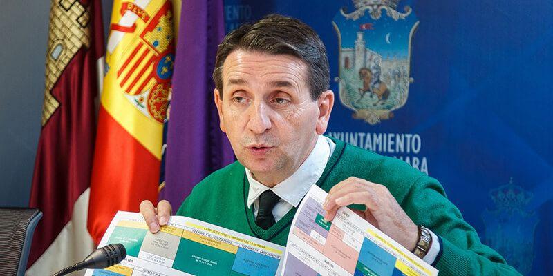 Freijo cree que no es aceptable que el PSOE esté deseando que desaparezca el Deportivo Guadalajara