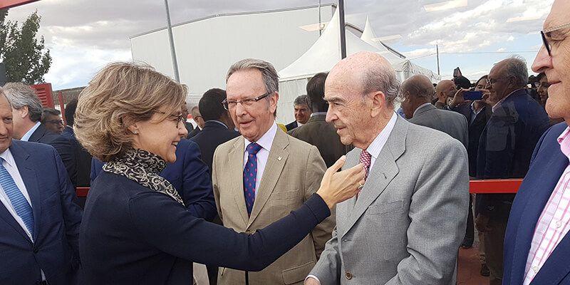 Globalcaja, en la inauguración de DCOOP Baco