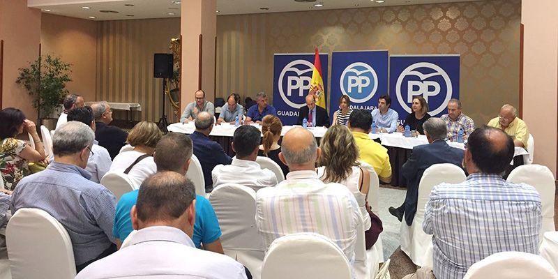 """Guarinos """"El PP seguirá exigiendo a Page el cumplimiento de todos sus compromisos con Guadalajara, a la que tiene abandonada y olvidada"""""""