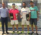 Iniesta disfrutó de la tercera prueba del V Circuito de Pádel Diputación de Cuenca
