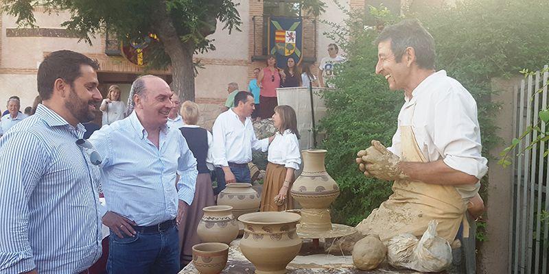 La Diputación de Guadalajara colabora en el desarrollo de la 57 edición del  Festival Medieval de Hita