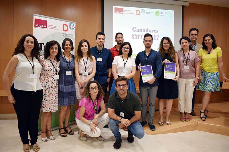 La Escuela Internacional de Doctorado entrega los premios del concurso Tesis en tres minutos