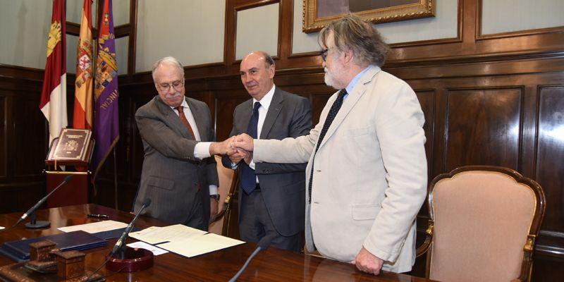 La Fundación Charo Conde y Camilo José Cela ceden la gestión de la obra creativa del Premio Nobel a la Diputación de Guadalajara