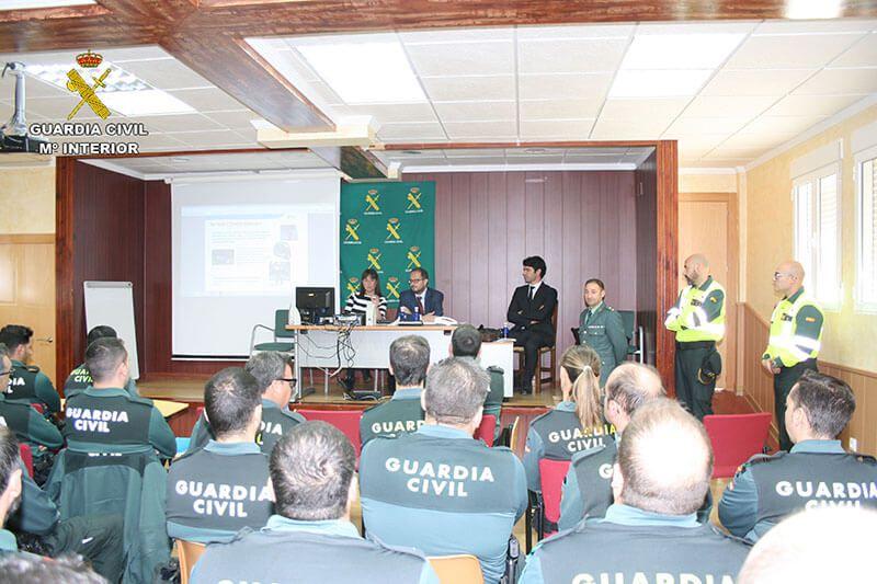 La Guardia Civil de Cuenca celebra unas Jornadas sobre Seguridad Vial en colaboración con la Dirección Provincial de Tráfico