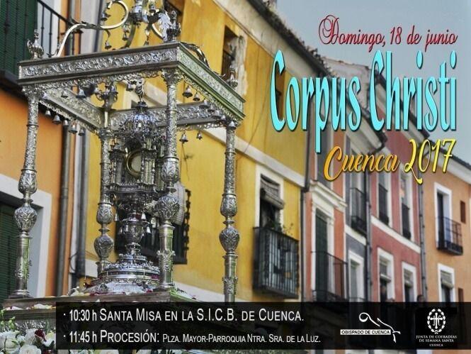 La JdC ultima detalles para celebración de la procesión del Corpus Christi en Cuenca, que tendrá varias novedades