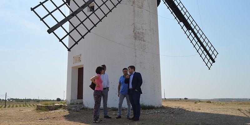 La Junta declara BIC el molino de viento El Zurdo de Mota del Cuervo