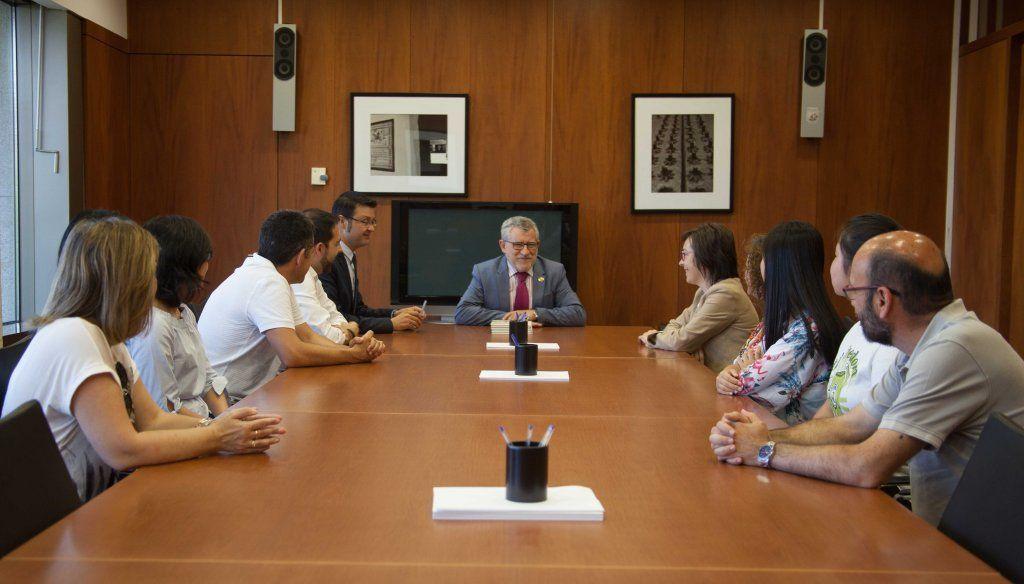 La Junta destaca la oportunidad que supone al IES Alfonso VIII de Cuenca participar en un proyecto Erasmus con un centro chino