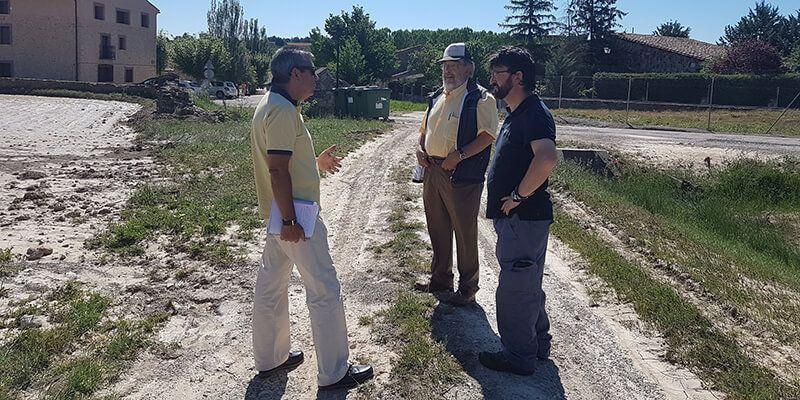 La Junta estudia la puesta en marcha de mejoras hidráulicas en varios municipios de la comarca de Molina de Aragón