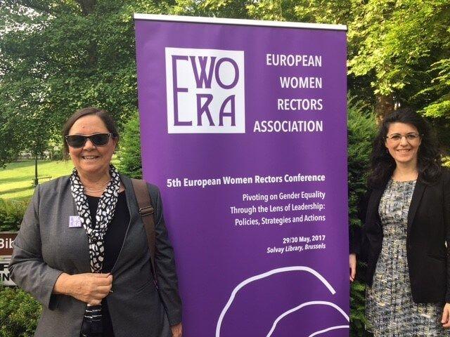 La UCLM participa en la V Conferencia de la Asociación Europea de Rectoras sobre liderazgo académico