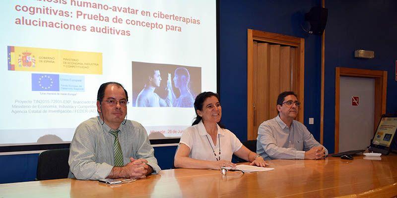 La UCLM presenta el proyecto HA-Symbiosis con el que se pretende ayudar a pacientes con esquizofrenia