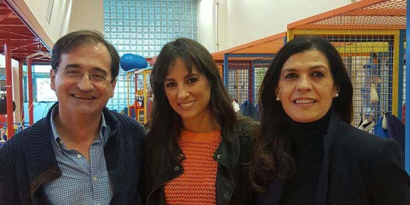 La periodista Lorena García amadrina a la Fundación Nipace en la carrera solidaria de las 24 Horas Ford