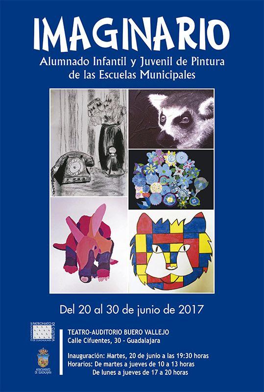 Mañana martes, 20 de junio, inauguración exposición de pintura en el Buero Vallejo
