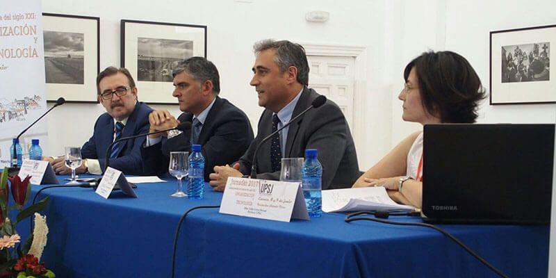 Mariscal invita a los asistentes a las Jornadas de la Administración de Justicia a disfrutar de la ciudad