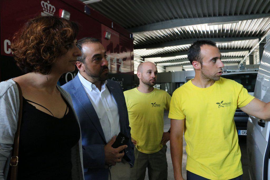 """La portavoz de Ciudadanos en C-LM, Orlena De Miguel ha puesto de manifiesto la necesidad de que la gestión de GEACAM sea """"más eficiente y transparente"""""""