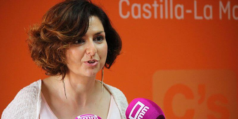 """Orlena de Miguel """"Ciudadanos no se ha olvidado de los castellanomanchegos a la hora de proponer iniciativas en los Presupuestos Generales"""""""