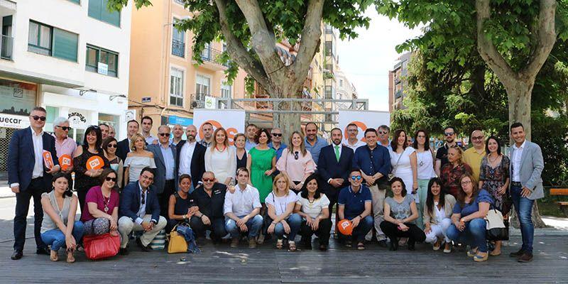 Orlena de Miguel y Alejandro Ruiz, portavoz y secretario de organización de Cs Castilla-La Mancha