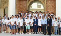 Page recibe a más de 50 agricultores de toda la región participantes en el I Campus de Jóvenes Cooperativistas