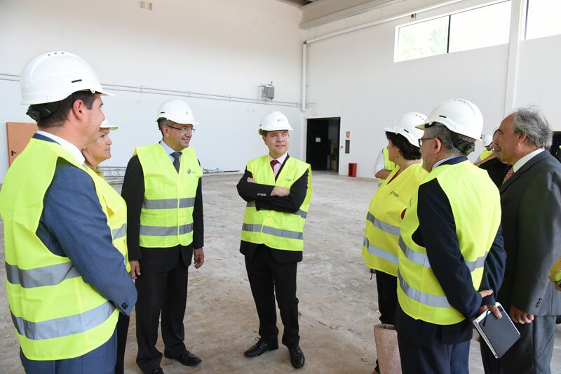 Page visita las obras del nuevo Colegio de Educación Infantil y Primaria de Yebes