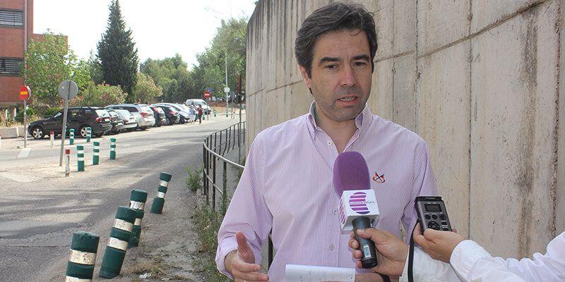 Robisco critica que Page se esté riendo de los guadalajareños con el estado en el que se encuentra el Hospital de Guadalajara
