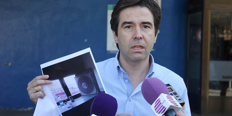 """Robisco denuncia que Page es incapaz de solucionar el """"calor insoportable"""" que sufren los enfermos en el Hospital de Guadalajara"""