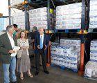 Sánchez-Seco visita el Banco de Alimentos en el inicio de la primera fase del Plan 2017 de Ayuda Alimentaria del MAPAMA