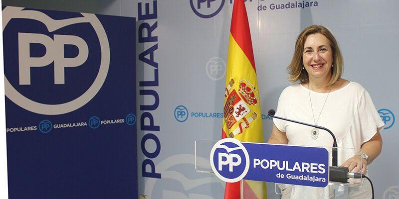 """Silvia Valmaña """"Page es un farsante político que viene a Guadalajara a contarnos otro de sus cuentos"""""""