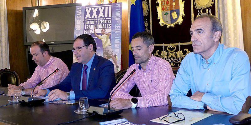 Todo listo en Cuenca para la celebración de la XXXII Competición Provincial de Juegos y Deportes Tradicionales 2017