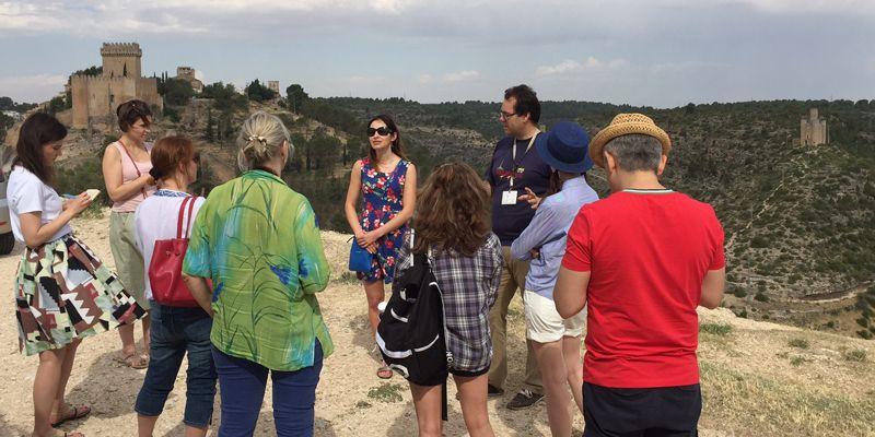 Un grupo de periodistas rusos recorren Castilla-La Mancha para promocionarla en su país