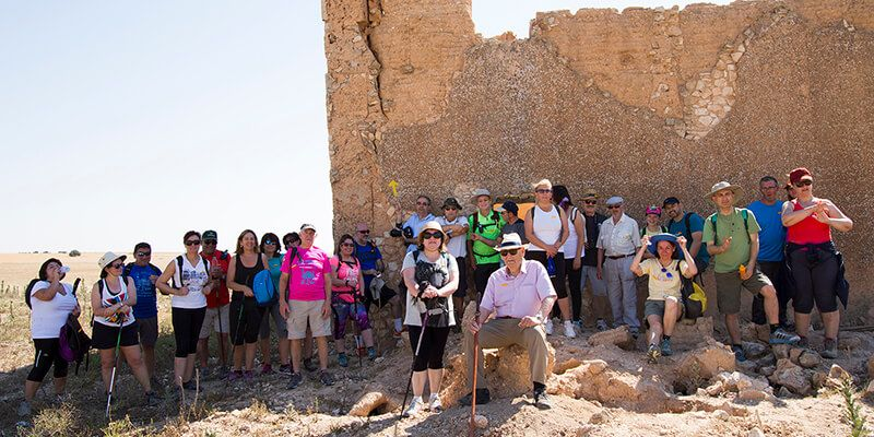 Un total de 35 peregrinos recuerdan a Fray Francisco de la Cruz desde San Clemente hasta la Alberca de Záncara