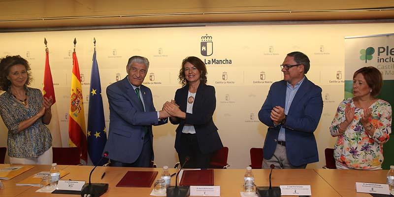 Un total de 90 jóvenes avanzarán en inclusión laboral gracias al convenio de prácticas prelaborales del Gobierno regional con Plena Inclusión Castilla-La Mancha