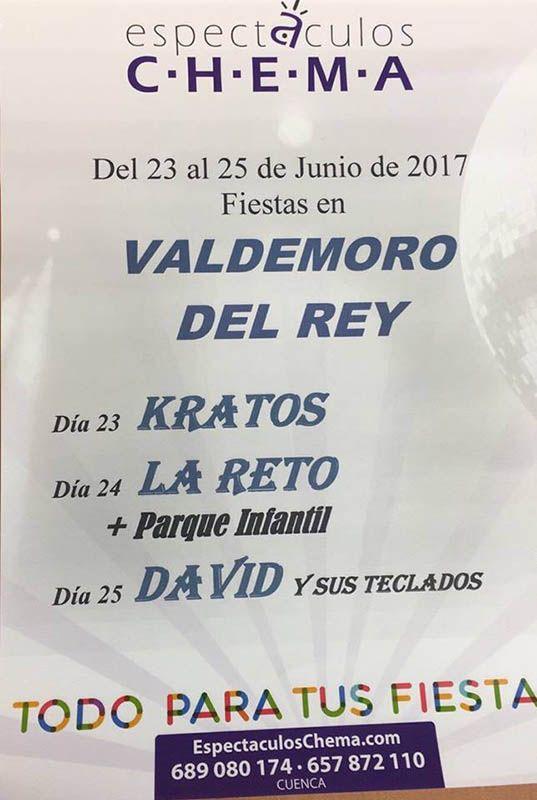 Valdemoro del Rey celebra sus fiestas este fin de semana