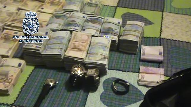 Veinte detenidos, algunos en Guadalajara, por blanquear dinero de la droga