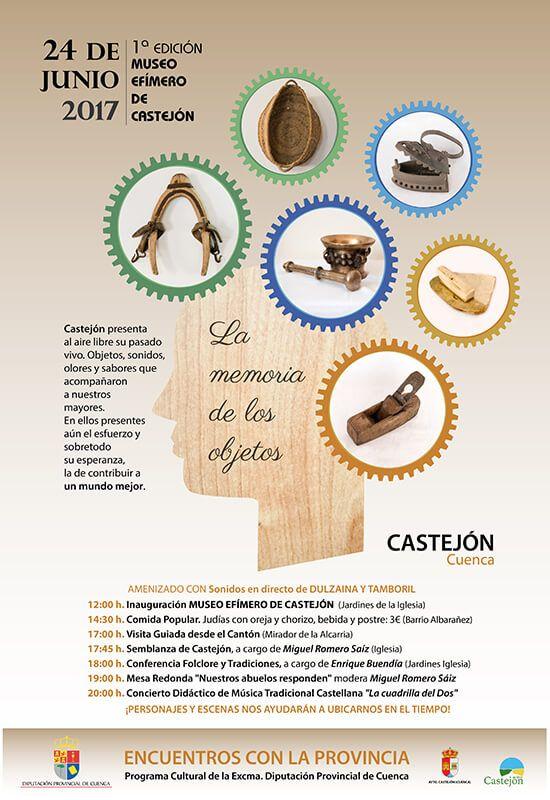 Castejón se inventa el Museo Efímero para honrar la memoria de sus mayores